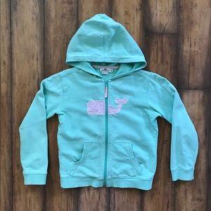 Vineyard Vines Hoodie Full Zip Whale Sweatshirt